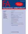 FA - Fachanwalt Arbeitsrecht