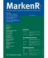 MarkenR - Zeitschrift für deutsches, europäisches und internationales Kennzeichenrecht