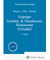 Leipziger Gerichts- & Notarkosten-Kommentar